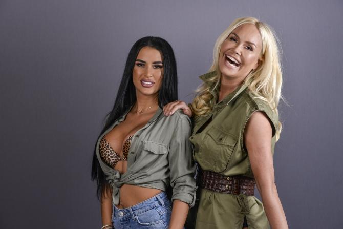 Daniela Crudu şi Vica Blochina la Asia Express reality show Antena 1