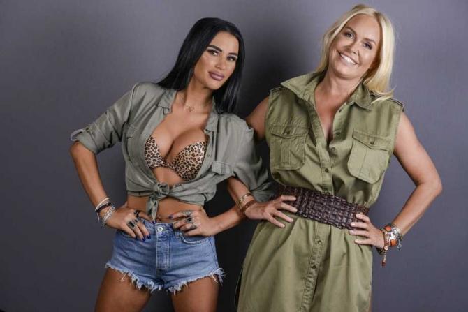 Daniela Crudu şi Vica Blochina la reality show Asia Express Antena 1