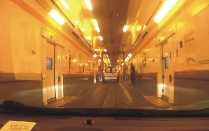 Eurotunnnel. foto: captura video