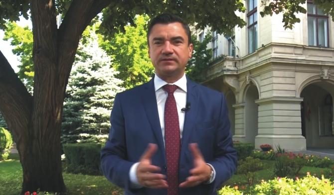 Mihai Chirica, primar Iasi. foto: facebook