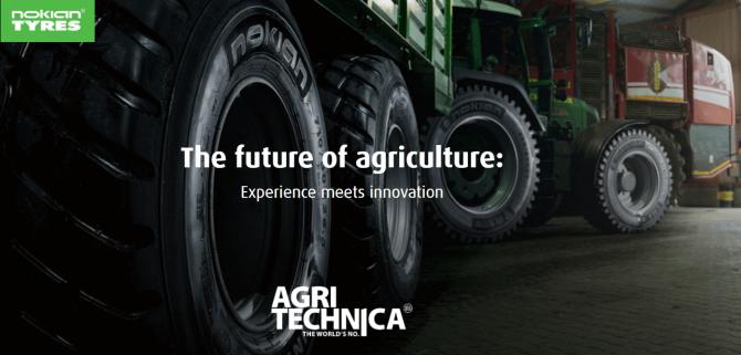 Nokian Heavy Tyres la Agritechnica 2017