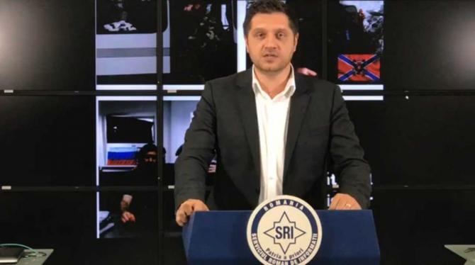 Ovidiu Marincea, purtător de cuvânt SRI. foto: facebook