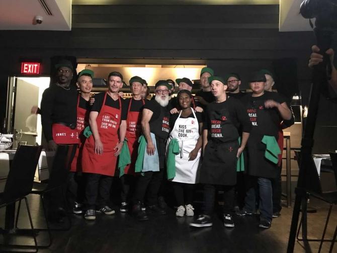 Restaurant canadian cu angajați infectaţi cu HIV. foto: Twitter