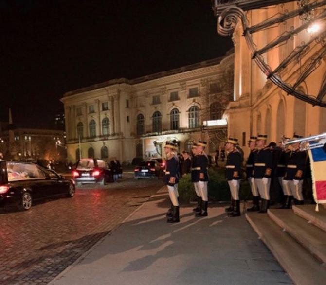 Funeralii Regele Mihai. Foto: Instagram Familia Regală a României