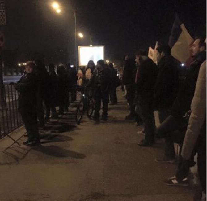 """Foto eveniment """"Lanț uman și protest pe roți în jurul infractorilor!"""""""