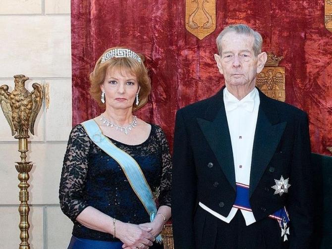 Principesa Margareta și Regele Mihai