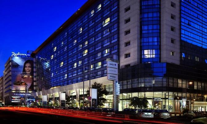 foto: facebook / Radisson Blu Hotel, Bucharest