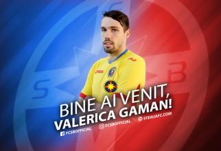 Valerică Găman - Pagina de Facebook FCSB