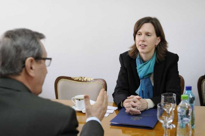 Abigail Rupp, foto: facebook / Universitatea Babeş-Bolyai