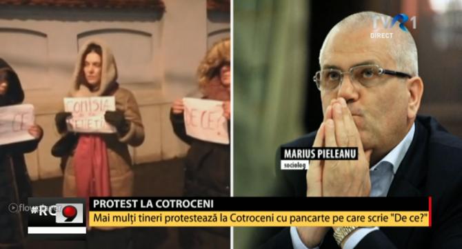 Proteste Cotroceni