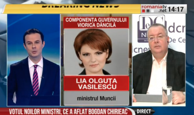 Bogdan Chirieac, Romania TV