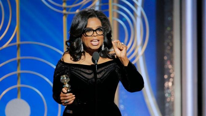 Oprah Winfrey @Globurile de Aur 2018