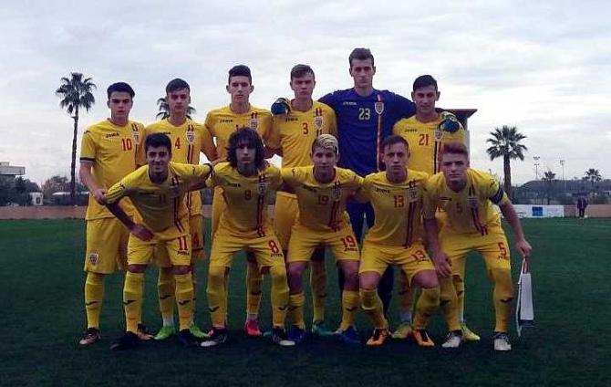 România U17. foto: frf.ro