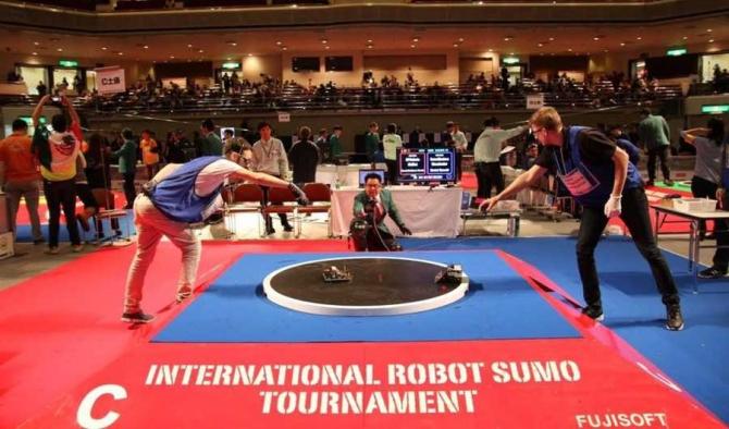 foto: All Japan Robot Sumo Tournament / facebook