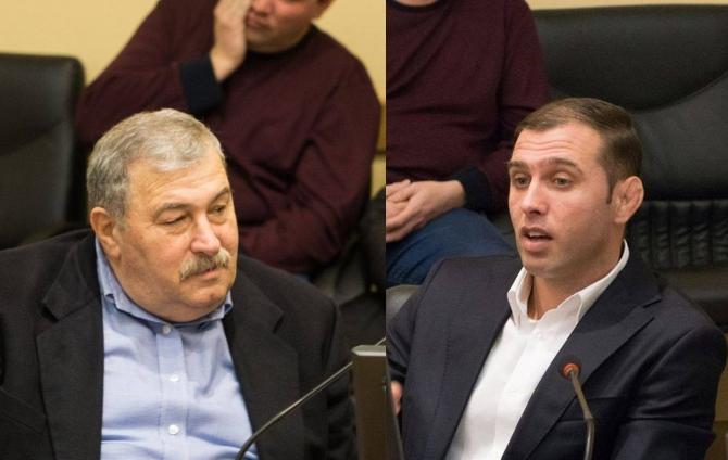 Romică Botoi și Eusebiu Diaconu. Sursa: zdbc.ro.