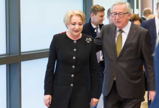 Jean-Claude Juncker - Viorica Dancila