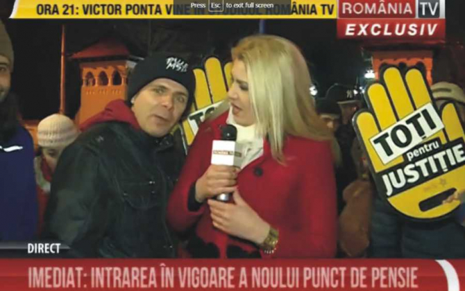 Mălin Bot, intervenţie BRUTALĂ peste Live-ul România Tv