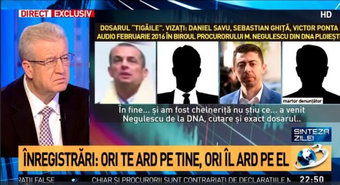 Daniel Savu, înregistrare Antena 3