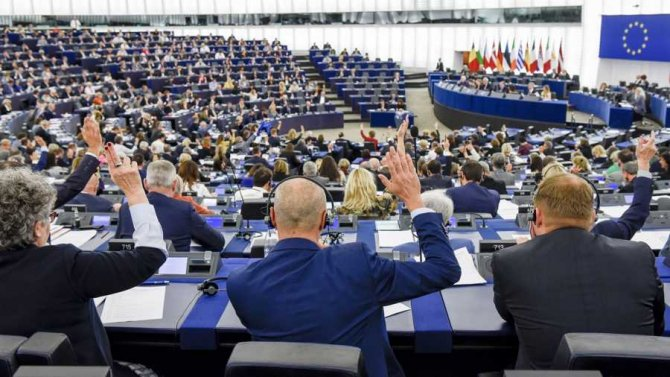 Parlamentul European. foto: Twitter, European Parliament@Europarl_EN
