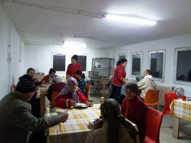 Sala de mese de la Centrul Social Odăi