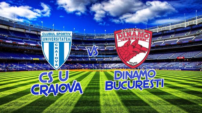 Universitatea Craiova - Dinamo, Cupa României, rezultat ...   Dinamo Craiova