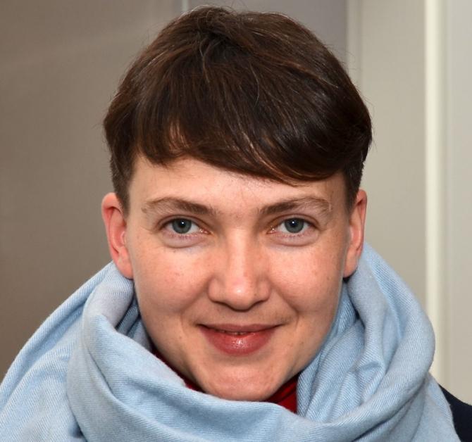 Nadia Savcenko, foto: wikipedia