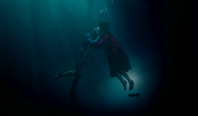 Shape of water, captura Youtube