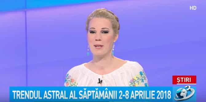 HOROSCOP 2 - 8 aprilie, Camelia Pătrășcanu