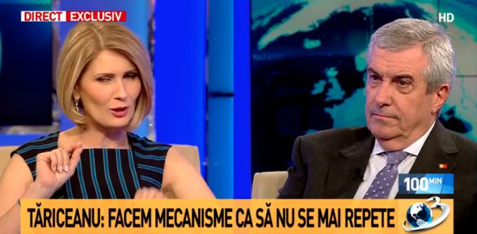 Tariceanu, Antena 3