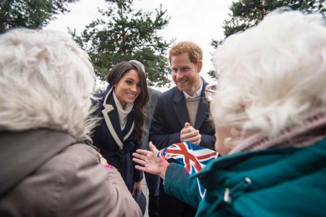 Prinţul Harry - Meghan Markle, nuntă
