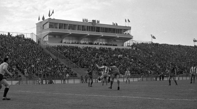 Stadionul Steaua, 1974, inaugurare. foto: csasteaua.ro