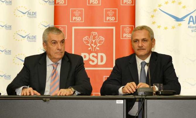 Călin Popescu Tăriceanu și Liviu Dragnea
