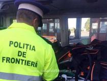 Poliția de frontieră - fotografie cu rol ilustrativ
