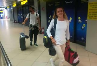 Exatlon: Larisa Vasile si Valentin Chiș, prima imagine în România