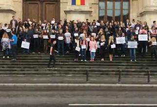 Protest magistraţi