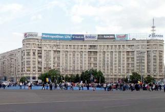 Protest in Capitala