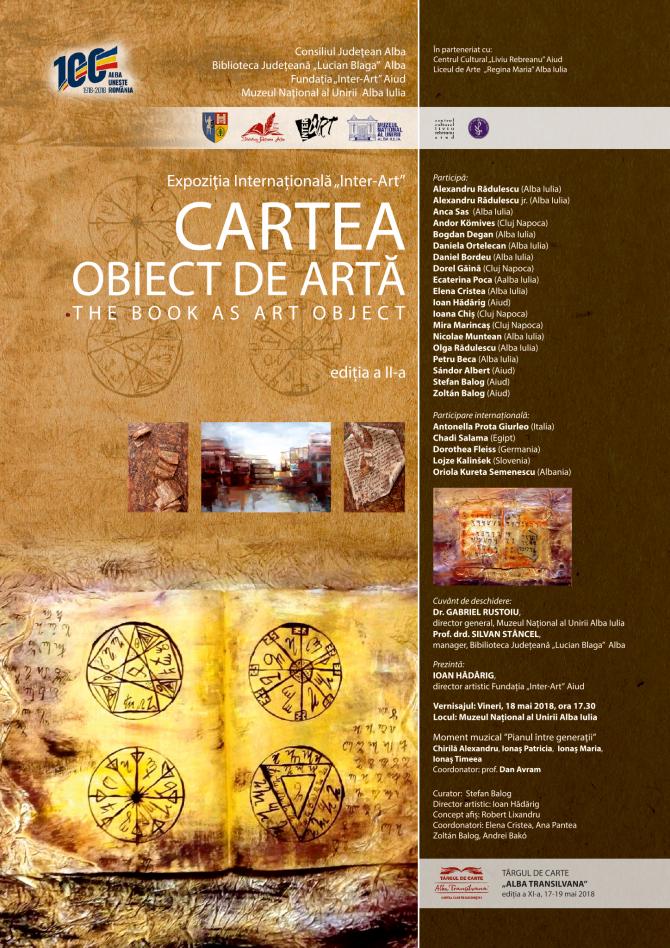 Cartea – obiect de artă și recital de pian, la Târgul de Carte Alba Transilvana 2018, de la Alba Iulia