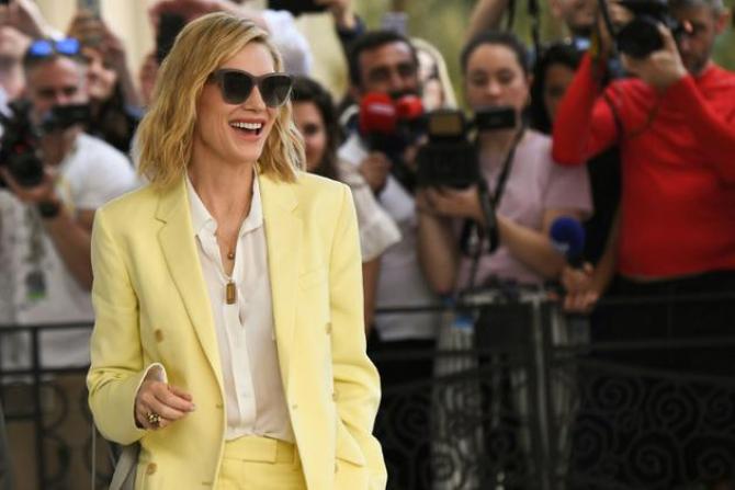 Cate Blanchett presedinta juriului a sosit la Cannes