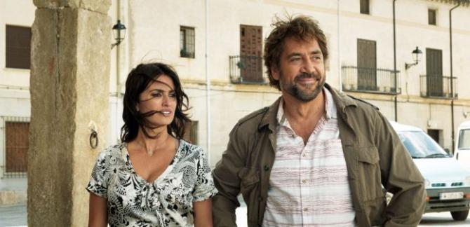 Penelope Cruz și Javier Bardem în filmul Todos lo saben