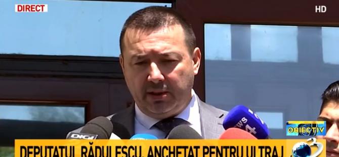 Cătălin Rădulescu, declarații după audierea la Parchetul General