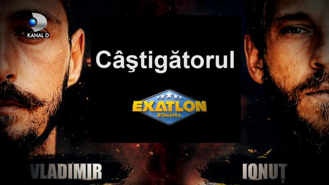 """Exatlon România. """"Singura întrebare"""" după ce Vladimir Drăghia a câștigat"""