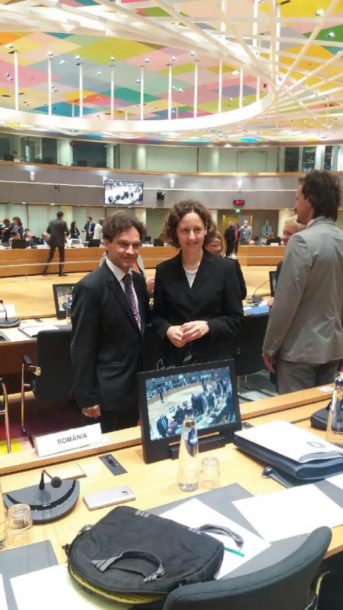George Ivașcu, discurs cheie la Bruxelles