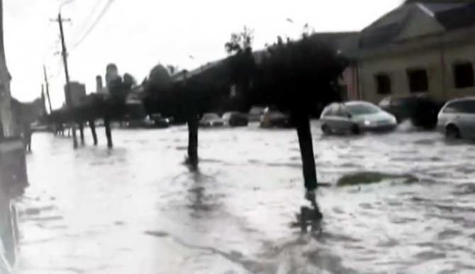 cod rosu de inundatii