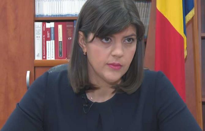 Procurorul şef al Direcţiei Naţionale Anticorupţie, Laura Codruţa Kovesi
