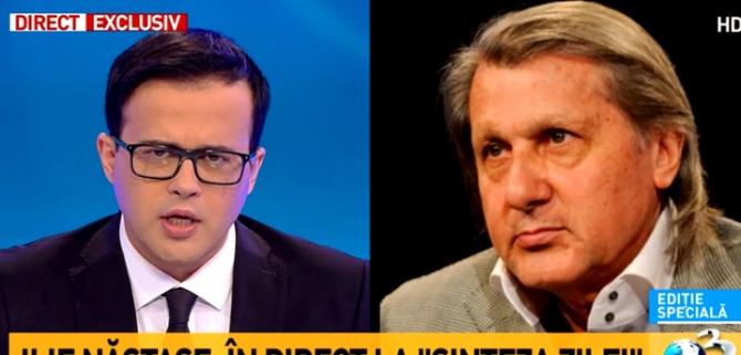 Ilie Năstase, intervenție fulger după ce s-a difuzat discuția cu Poliția