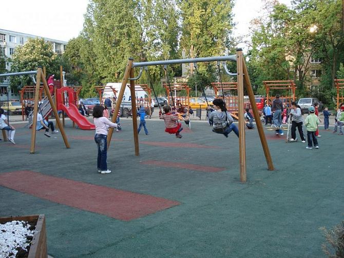 Parc salvat de primarul Daniel Băluță