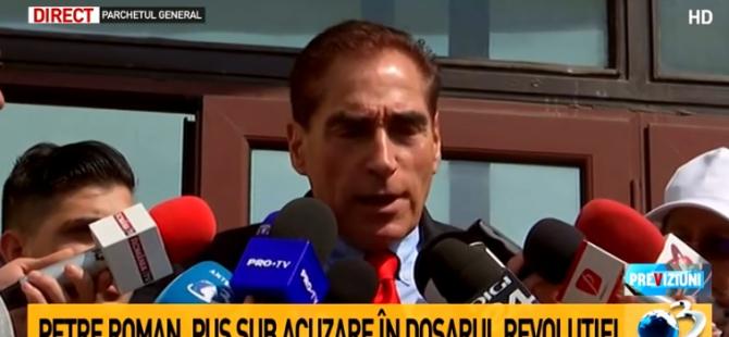 Petre Roman, primele declarații după ce a ieșit de la Parchetul General