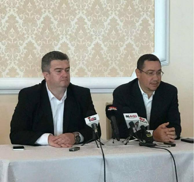 Victor Ponta și Cătălin Nechifor