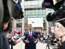 Klaus Iohannis, la Bruxelles