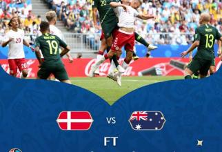 Danemarca - Australia / facebook @fifaworldcup